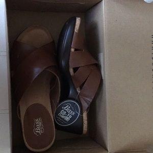 G.h. Bass & co sandal wedge